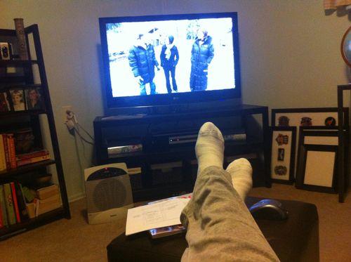 Watching some hgtv