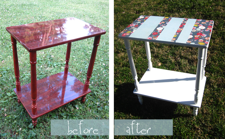 Side-table-before&after