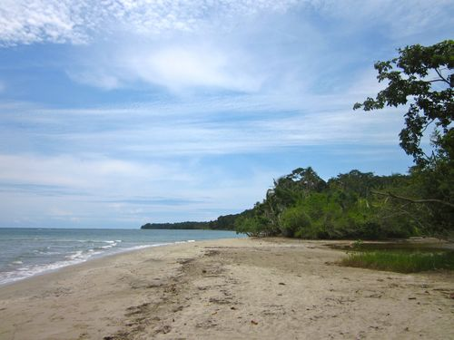 Costa Rica caribbean beach - punta uva